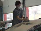 Auto body technology students 2